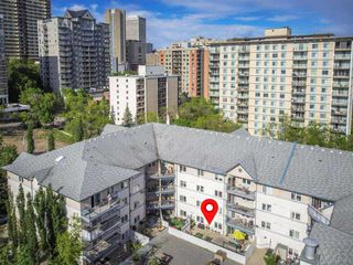 Photo 43: 115 10403 98 Avenue in Edmonton: Zone 12 Condo for sale : MLS®# E4199962