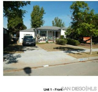 Main Photo: LOGAN HEIGHTS Property for sale: 3774 Beta St in San Diego