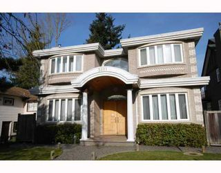 Photo 1: 3911 W 21ST Avenue in Vancouver: Dunbar House for sale (Vancouver West)  : MLS®# V750872