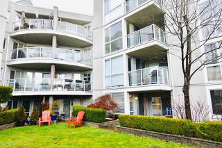 Photo 2: 108 8450 JELLICOE Street in Vancouver: South Marine Condo for sale (Vancouver East)  : MLS®# R2432631