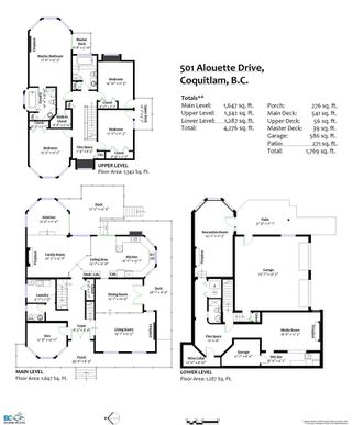 Photo 27: 501 ALOUETTE Drive in Coquitlam: Coquitlam East House for sale : MLS®# R2461815