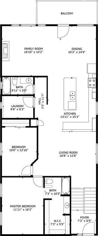 Photo 2: 817 Beckner Crescent: Carstairs Detached for sale : MLS®# C4300369