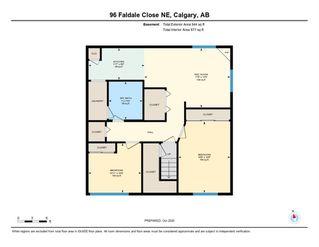 Photo 42: 96 Faldale Close NE in Calgary: Falconridge Detached for sale : MLS®# A1039949