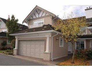 Photo 1: 44 5531 CORNWALL DR in Richmond: Terra Nova Townhouse for sale : MLS®# V564110