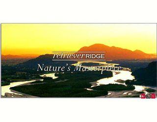 "Photo 1: 23 43540 ALAMEDA Drive in Chilliwack: Chilliwack Mountain Townhouse for sale in ""RETRIEVER RIDGE"" : MLS®# H2805189"