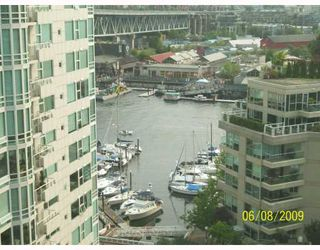"""Photo 5: 1508 1500 HORNBY Street in Vancouver: False Creek North Condo for sale in """"888 BEACH"""" (Vancouver West)  : MLS®# V771057"""
