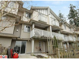 Main Photo: 13 2733 PARKWAY Drive in Surrey: King George Corridor Townhouse for sale (South Surrey White Rock)  : MLS®# F1101544