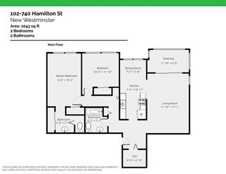 """Photo 17: 102 740 HAMILTON Street in New Westminster: Uptown NW Condo for sale in """"The Statesman"""" : MLS®# R2396351"""