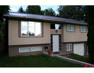 Photo 1: 32232 BUFFALO Drive in Mission: Mission BC House for sale : MLS®# F1005708