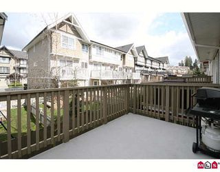 "Photo 5: 59 6651 203RD Street in Langley: Willoughby Heights Townhouse for sale in ""Sunscape"" : MLS®# F2906259"