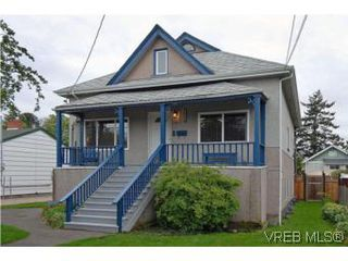 Photo 1: 2222 Shakespeare St in VICTORIA: Vi Fernwood Single Family Detached for sale (Victoria)  : MLS®# 535782