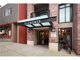 "Photo 2: 110 2515 ONTARIO Street in Vancouver: Mount Pleasant VW Condo for sale in ""Elements"" (Vancouver West)  : MLS®# V838279"