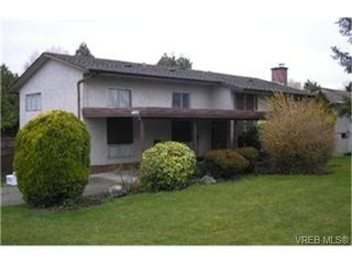 Photo 1:  in VICTORIA: SE Lake Hill Single Family Detached for sale (Saanich East)  : MLS®# 459950
