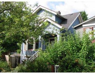 Photo 1: 1343 LAKEWOOD DR in Vancouver: Grandview VE House for sale (Vancouver East)  : MLS®# V553719