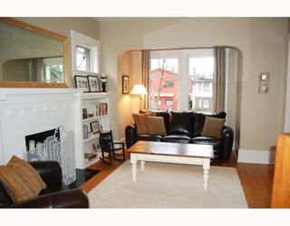 """Photo 2: 857 W 17TH Avenue in Vancouver: Cambie House 1/2 Duplex for sale in """"DOUGLAS PARK"""" (Vancouver West)  : MLS®# V756661"""