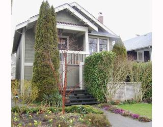 """Photo 1: 857 W 17TH Avenue in Vancouver: Cambie House 1/2 Duplex for sale in """"DOUGLAS PARK"""" (Vancouver West)  : MLS®# V756661"""