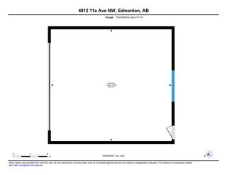 Photo 34: 4812 11A Avenue NW in Edmonton: Zone 29 House for sale : MLS®# E4189056