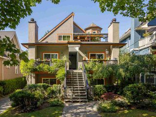 Main Photo: 2437 W 6TH Avenue in Vancouver: Kitsilano Townhouse for sale (Vancouver West)  : MLS®# R2484664