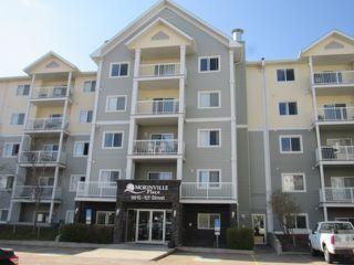 Photo 1: 320, 9910 107 Street in Morinville: Condo for rent