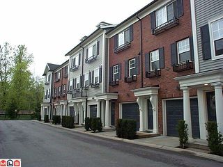 """Photo 1: 51 18983 72A Avenue in Surrey: Clayton Townhouse for sale in """"THE KEW"""" (Cloverdale)  : MLS®# F1011030"""