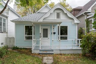 Photo 1: 429 Toronto Street in Winnipeg: West End Residential for sale (5A)  : MLS®# 1927705