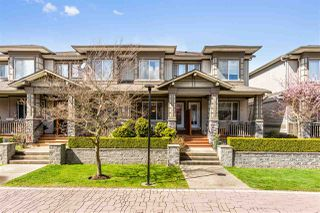 """Main Photo: 124 18701 66 Avenue in Surrey: Cloverdale BC Townhouse for sale in """"Encore at Hillcrest"""" (Cloverdale)  : MLS®# R2449125"""