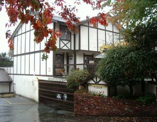 "Photo 1: 8957 HORNE ST in Burnaby: Government Road Townhouse for sale in ""TUDOR VILLAGE"" (Burnaby North)  : MLS®# V559485"