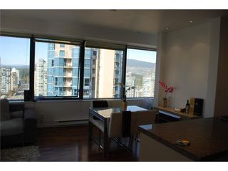 "Photo 4: 1414 1333 W GEORGIA Street in Vancouver: Coal Harbour Condo for sale in ""THE QUBE"" (Vancouver West)  : MLS®# V831474"