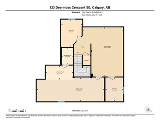 Photo 49: 123 DEERMOSS Crescent SE in Calgary: Deer Run Detached for sale : MLS®# C4287185