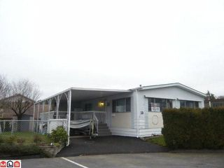 "Photo 1: 38 8254 134 Street in Surrey: Queen Mary Park Surrey Manufactured Home for sale in ""Westwood Estates"" : MLS®# F1102670"