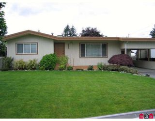 Photo 1: 2351 BEAVER Street in Abbotsford: Abbotsford West House for sale : MLS®# F2818913