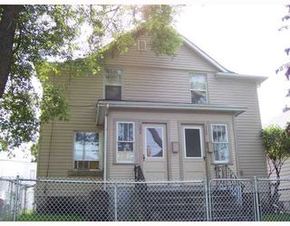 Photo 1: 366 ALFRED Avenue in WINNIPEG: North End Residential for sale (North West Winnipeg)  : MLS®# 2817640