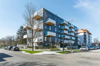 """Photo 1: 606 5089 QUEBEC Street in Vancouver: Main Condo for sale in """"SHIFT LITTLE MOUNTAIN BY ARAGON"""" (Vancouver East)  : MLS®# R2475021"""