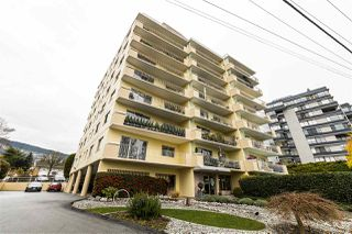 "Main Photo: 504 2187 BELLEVUE Avenue in West Vancouver: Dundarave Condo for sale in ""SUFFSIDE TOWERS"" : MLS®# R2518277"