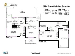 Photo 10: 7224 BRAESIDE Drive in Burnaby: Westridge BN House for sale (Burnaby North)  : MLS®# V1003188