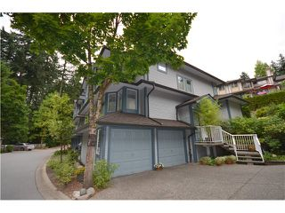 "Photo 1: 33 103 PARKSIDE Drive in Port Moody: Heritage Mountain Townhouse for sale in ""TREETOPS"" : MLS®# V1029401"