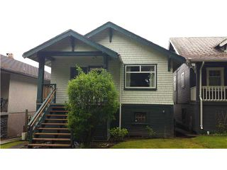 "Photo 1: 2323 GRAVELEY Street in Vancouver: Grandview VE House for sale in ""GRANVIEW"" (Vancouver East)  : MLS®# V1063357"