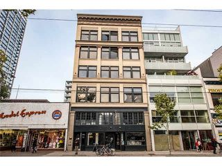 "Main Photo: 506 53 W HASTINGS Street in Vancouver: Downtown VW Condo for sale in ""Paris Block"" (Vancouver West)  : MLS®# V1123580"