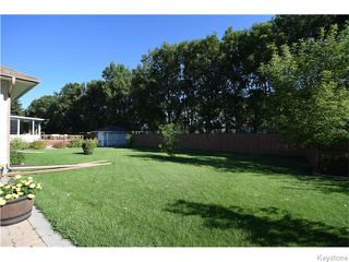 Photo 16: 43 MIRABELLE Road in WSTPAUL: West Kildonan / Garden City Residential for sale (North West Winnipeg)  : MLS®# 1523460