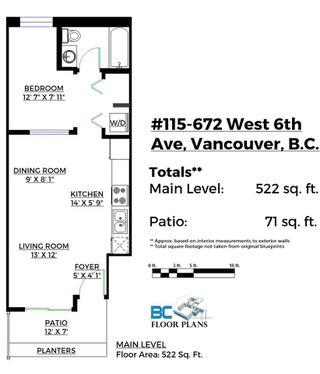 "Photo 19: 115 672 W 6TH Avenue in Vancouver: Fairview VW Condo for sale in ""The Bohemia"" (Vancouver West)  : MLS®# R2111915"