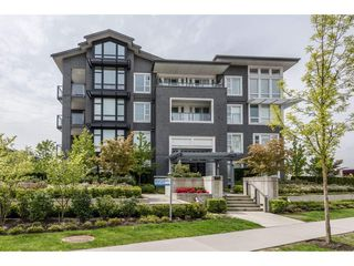 """Main Photo: 203 550 SEABORNE Place in Port Coquitlam: Riverwood Condo for sale in """"FREMONT GREEN"""" : MLS®# R2164463"""