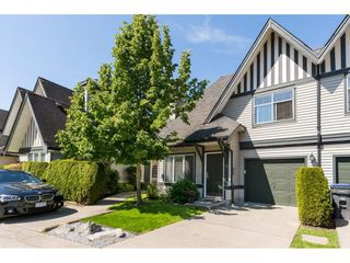 "Photo 1: 22 18883 65 Avenue in Surrey: Cloverdale BC Townhouse for sale in ""APPLEWOOD"" (Cloverdale)  : MLS®# R2170733"