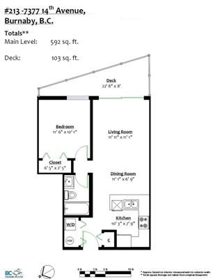 """Photo 19: 213 7377 14TH Avenue in Burnaby: Edmonds BE Condo for sale in """"VIBE"""" (Burnaby East)  : MLS®# R2180199"""