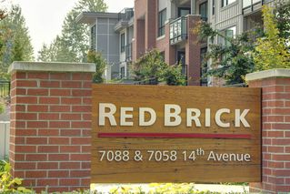 "Photo 1: 108 7058 14TH Avenue in Burnaby: Edmonds BE Condo for sale in ""REDBRICK B"" (Burnaby East)  : MLS®# R2194609"