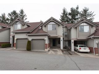 "Photo 1: 406 13900 HYLAND Road in Surrey: East Newton Townhouse for sale in ""Hyland Grove"" : MLS®# R2240746"