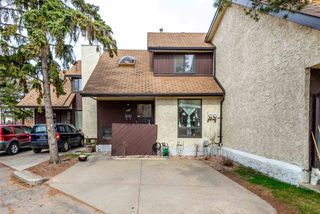 Photo 1: 706 SADDLEBACK Road in Edmonton: Zone 16 Townhouse for sale : MLS®# E4154163