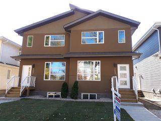 Photo 1: 11427 80 Avenue in Edmonton: Zone 15 House Half Duplex for sale : MLS®# E4156579