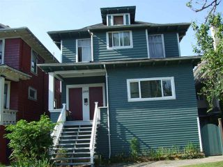 Main Photo: 2895 W 5TH Avenue in Vancouver: Kitsilano House for sale (Vancouver West)  : MLS®# R2373672