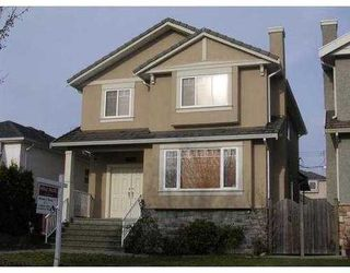 Photo 1: 65 47TH Ave in Vancouver West: Oakridge VW Home for sale ()  : MLS®# V799777