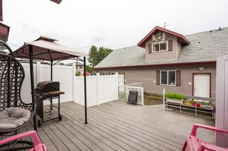 Photo 24: 9353 94 Street in Edmonton: Zone 18 House Half Duplex for sale : MLS®# E4205306